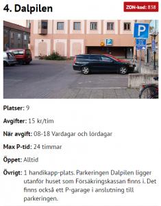 ParkeringDalapilen